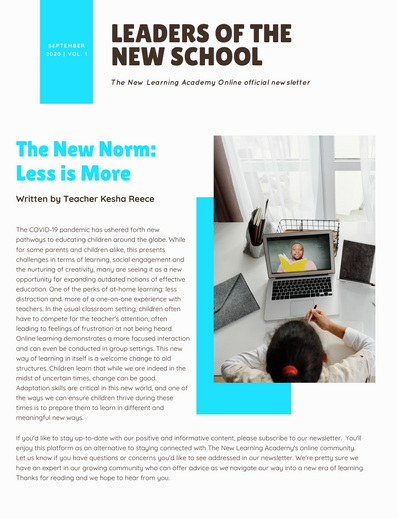 TNLAO newsletter pg 1