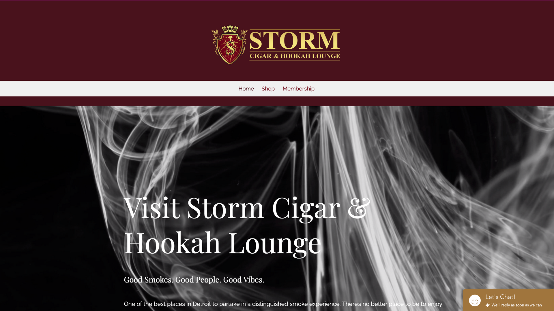 Storm Cigar & Hookah Lounge