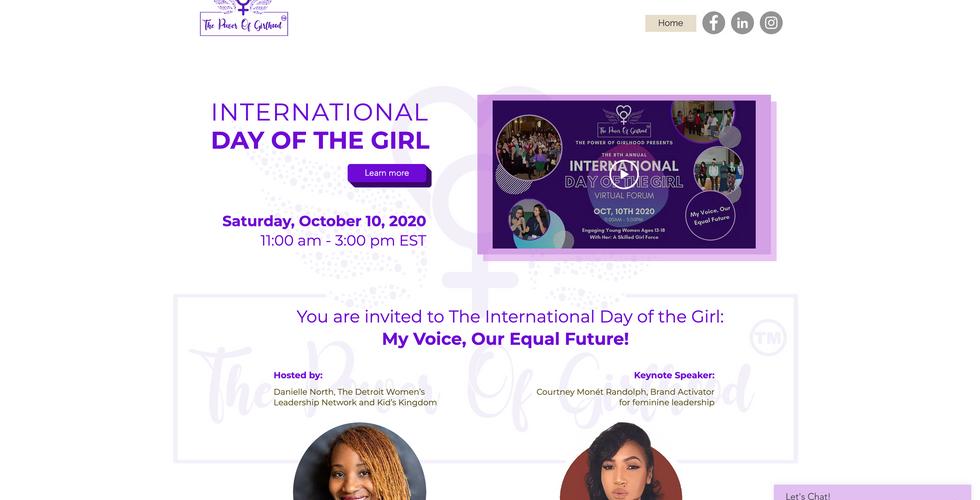 POG International Day of the Girl