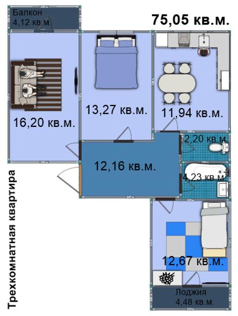 Квартира 115