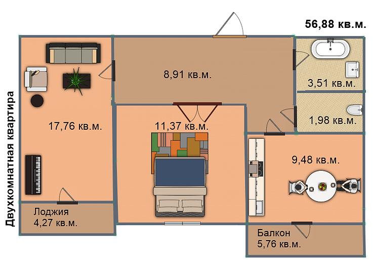 Квартира 185