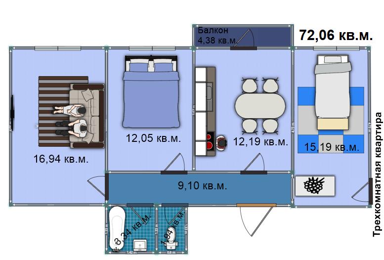 Квартира 198
