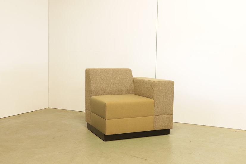 Bricks 1-seater with armrest / 1X