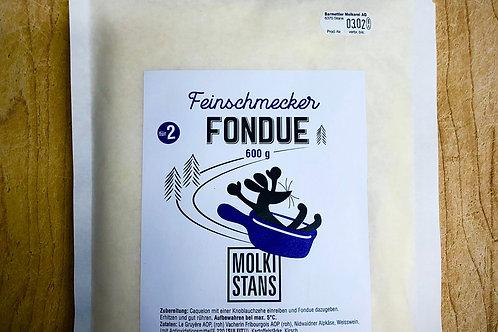 Feinschmecker Fondue (3er)