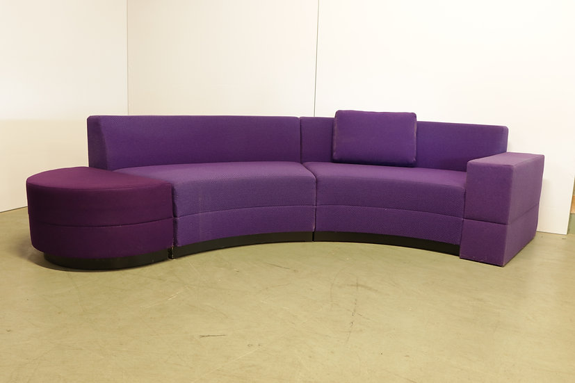 Bricks curved sofa / 1X
