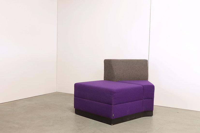 Bricks 45 curved seat element / 1X