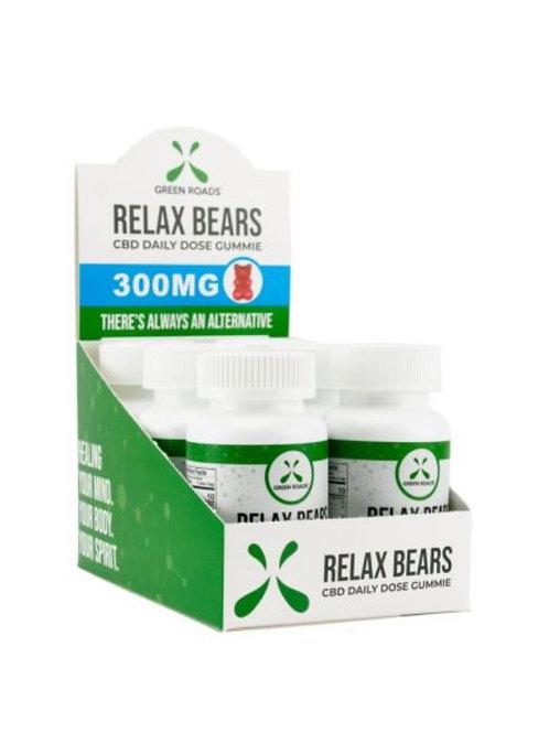 Case of 6 Relax Gummy Bears