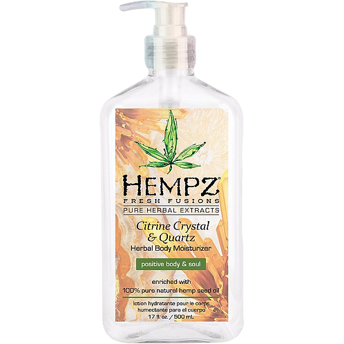 Hempz - Citrine crystal and quartz Moisturizer