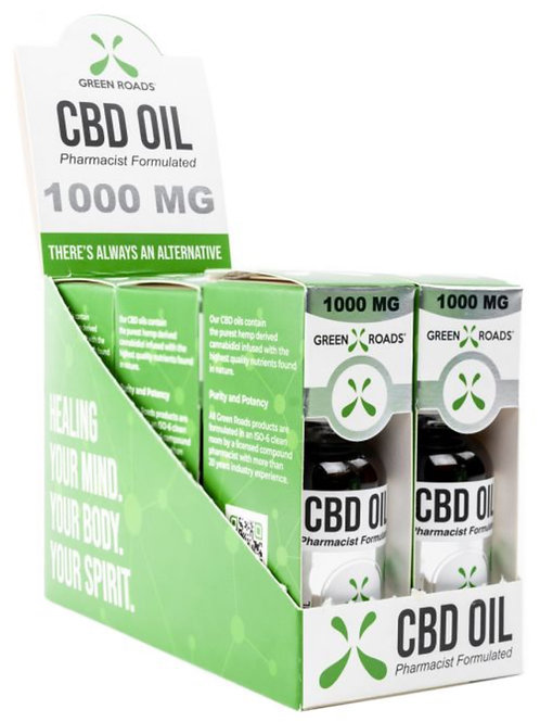 Case of 6 - 1000 mg Hemp Oil