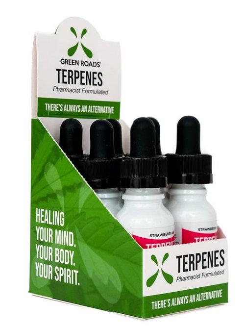 Box of 6 Terpenes Oil – Strawberry AK 300 mg