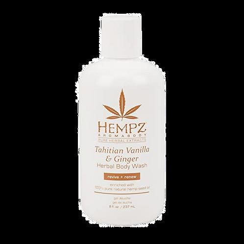 Hempz - Tahitian Vanilla and Ginger Body Wash