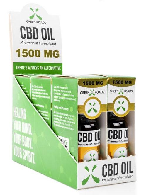 Case of 6 - 1500 mg Hemp Oil