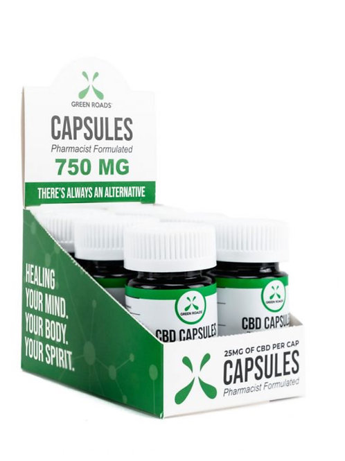 Box of 6 - 750 mg Capsules