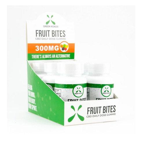 Case of 6 Fruit Bites 300 mg