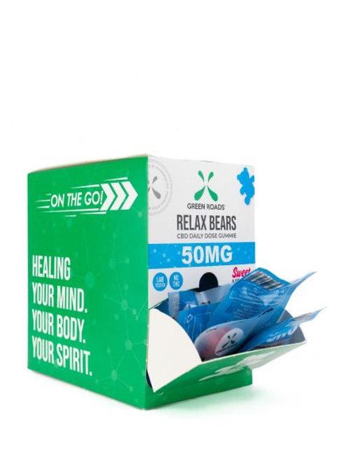 Box of 30 - 50 mg Relax Bears