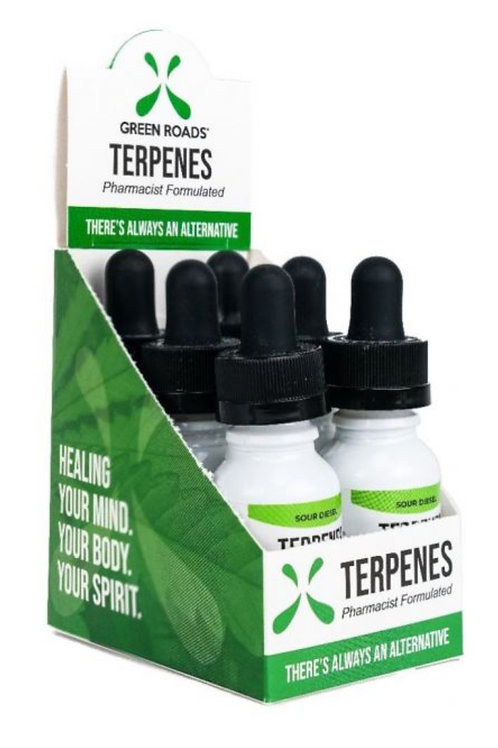Box of 6 Terpenes Oil – Sour Diesel 100 mg