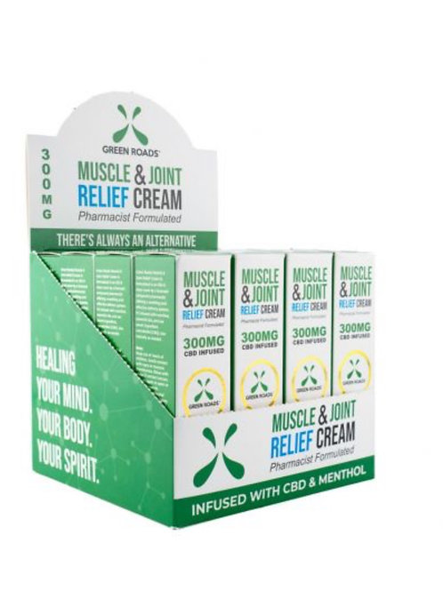 Case of Pain Relief Cream 300 mg