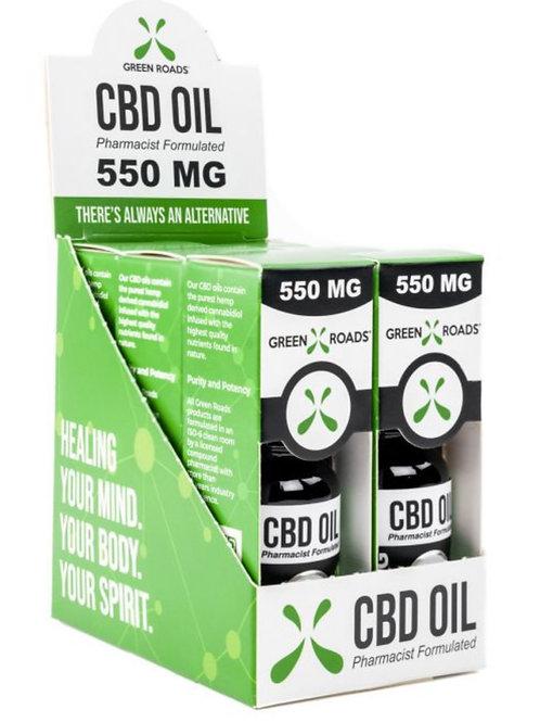 Case of 6 - 550 mg Hemp Oil