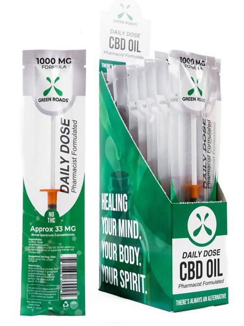 Daily Dose - (Box of 20) 1000 mg Hemp Oil