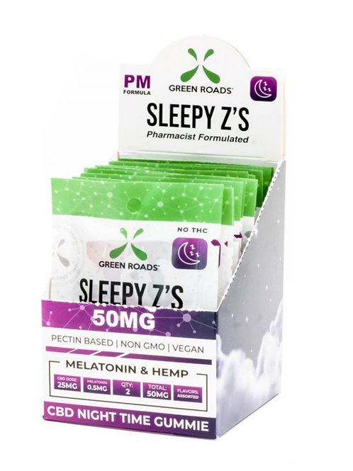 Box of 10 - Sleepy Z's 50 mg