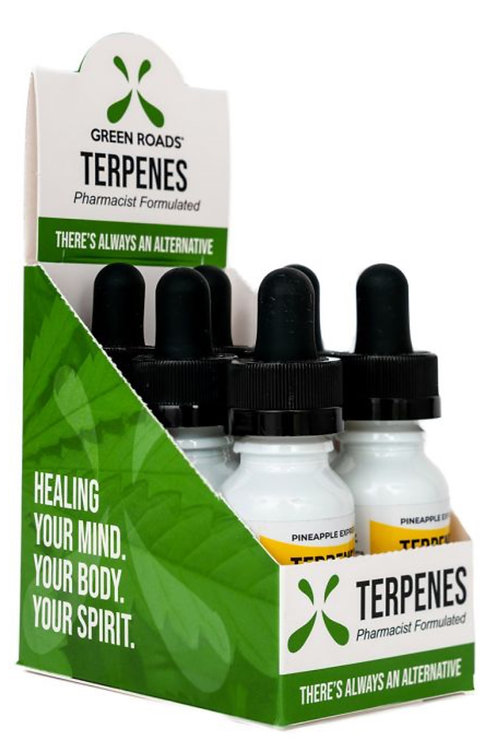 Box of Terpenes Oil – Pineapple Express 100 mg