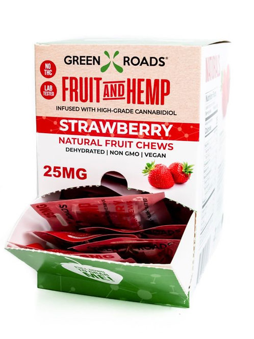 Box of 30 - 25 Mg Fruit Bites Strawberry