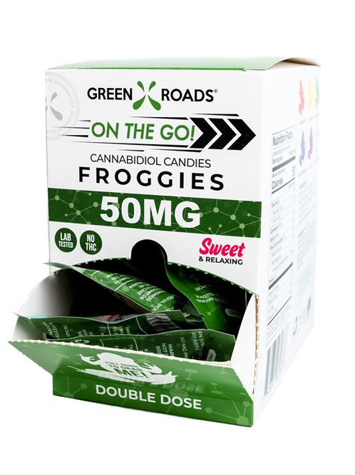 Box of 30 - 50 mg Froggies