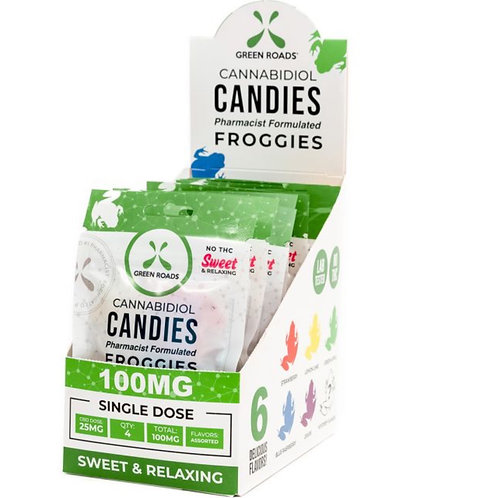 Box of 10 - 100 mg Froggies