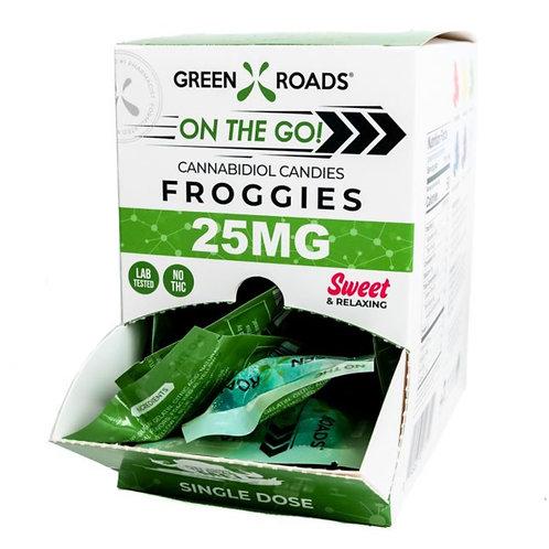 Box of 30 - 25 Mg Froggies