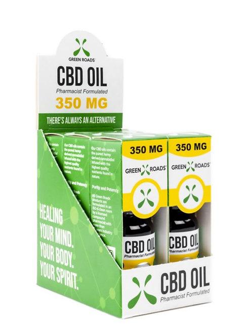 Case of 6 - 350 mg Hemp Oil