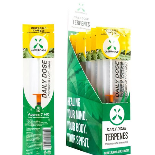 Daily Dose Terpenes - (Box of 20) Pineapple Express