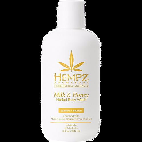 Hempz - Milk and Honey Body Wash