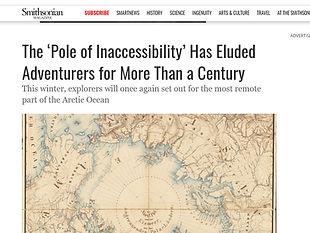 The 'Pole of Inaccessibility' Has Eluded Adventurers for More Than a Century