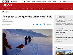 The quest to conquer the other North Pole