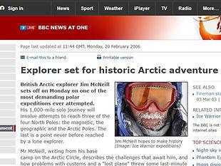 Explorer set for historic Arctic adventure