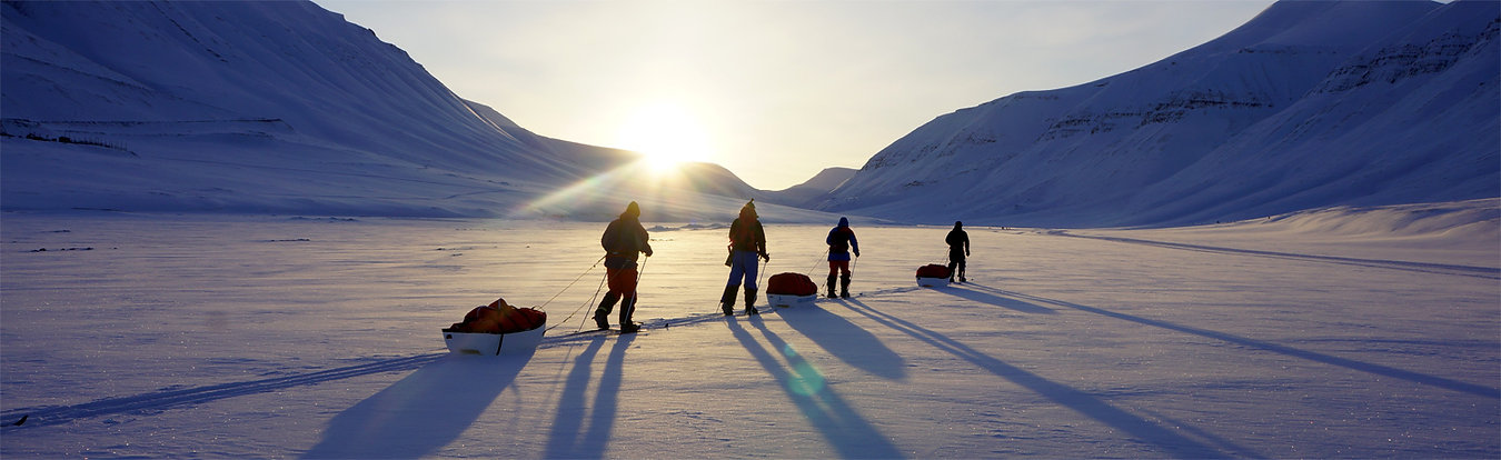 polar expedition training svalbard
