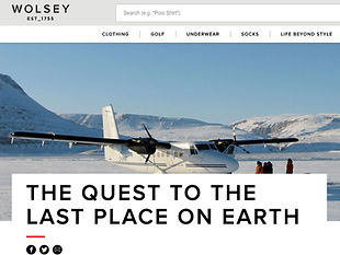 THE QUEST TO THE LAST PLACE ON EARTH