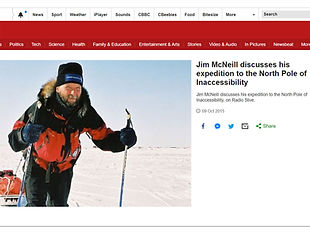 Jim McNeill discusses his expedition to the North Pole of Inaccessibility