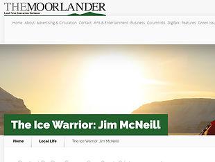 The Ice Warrior: Jim McNeill