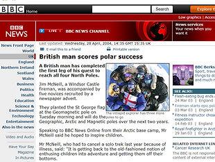 British man scores polar success