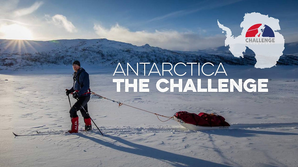 Baz Gray - Challenge Antarctica