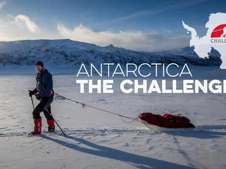 Baz Gray - Solo Trek across Antarctica, Explorer Talks 22 February