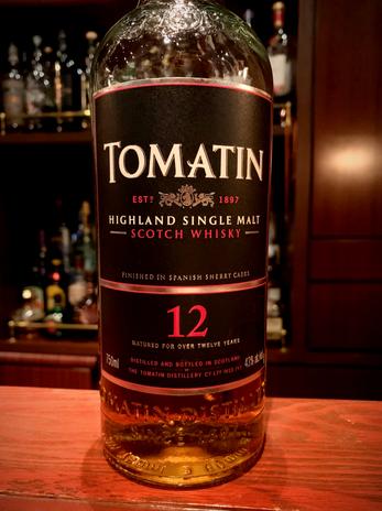 トマーティン12年(旧ボトル)