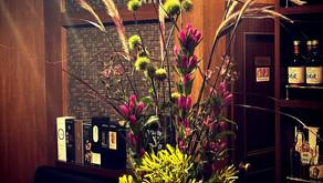 緊急事態宣言解除の福岡 お花を飾って営業再開