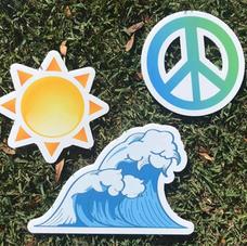 Sun, Peace, Wave