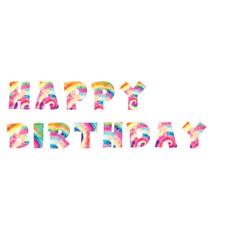 Tie Dye Happy Birthday