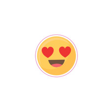 Small Heart Eyes Emoji