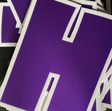 Purple Letters