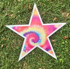 Tie-Dye Star