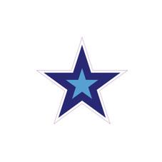 Dark Blue Star